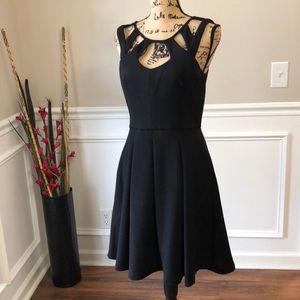 Betsy Johnson Keyhole SweetHeart Formal Dress